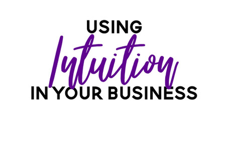 Intuition in Business... What is an Intuitive Business Coach?