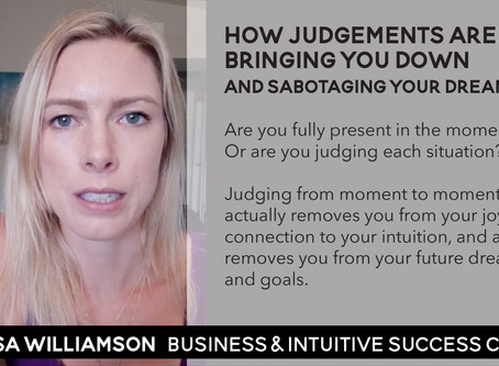 Why Your Marketing Isn't Working & How Judgements are Bringing You Down