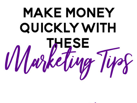 Need Money Immediately? How to Make Money Quickly in Your Business