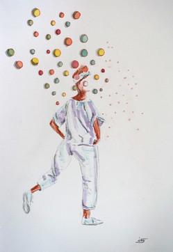 bubble en marche