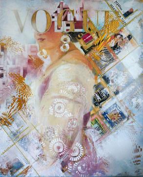 White Lady on Vogue