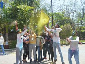 Burn all negativity ! Celebrate Holi...