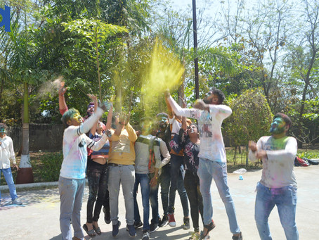 Burn all negativity ! Celebrate Holi...