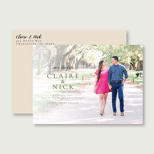 LaFave Save the Date (Set of 80)