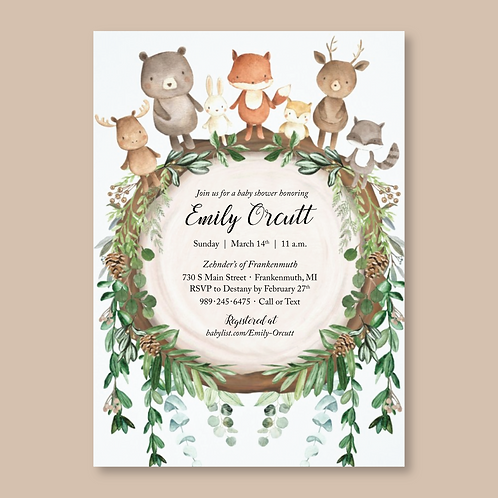 Orcutt Baby Shower (Set of 50)