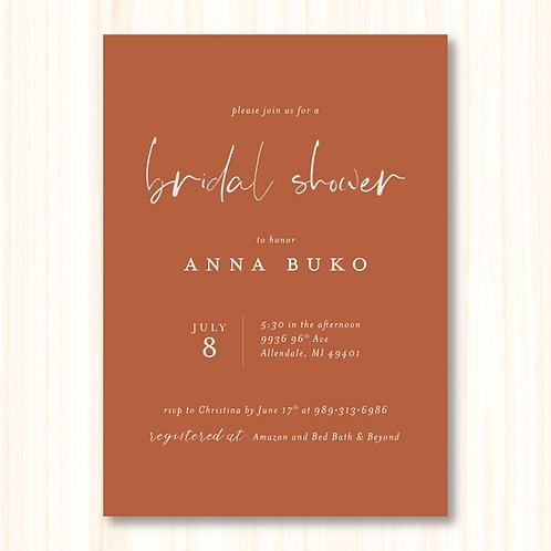 Buko Bridal Shower (Set of 30)