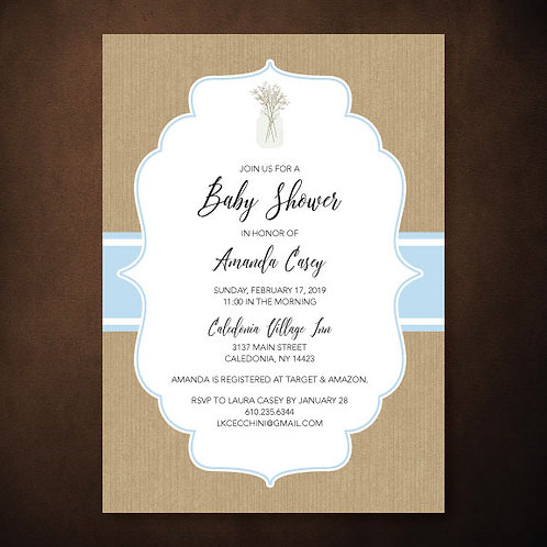 Casey Baby Shower (Set of 35)