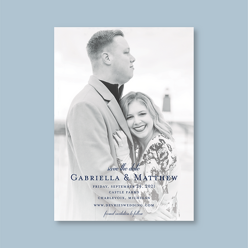 DeVries Save the Date (Set of 180)