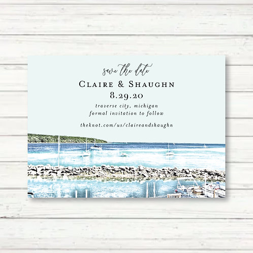 Traverse City Save the Date (Set of 135)