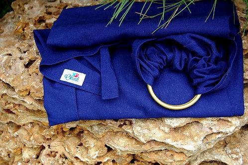 Слінг з кільцями Okrosh льон-віскоза - Темно-синій