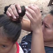 The shaman in Peru