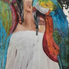 Woman Parrot