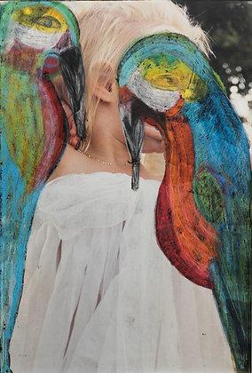 Parrot woman 4