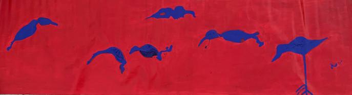 כחול אדום