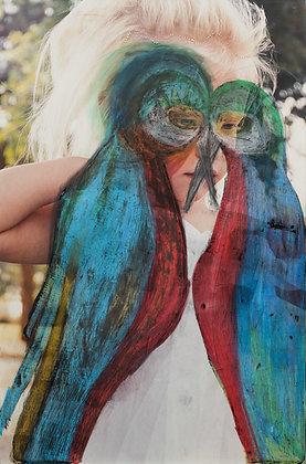 Parrot woman 5