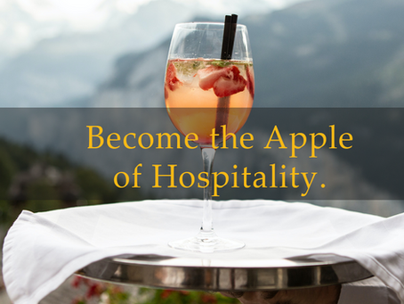 Become the Apple of Hospitality.