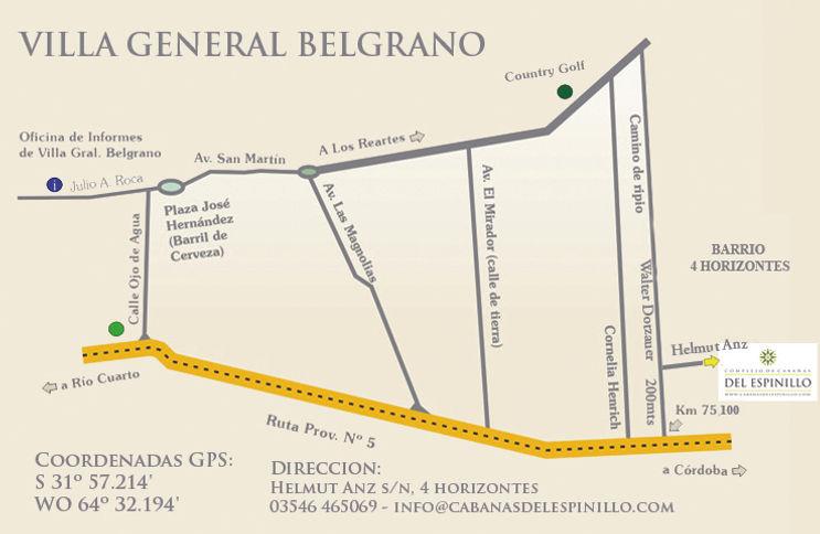 Alquiler de cabañas en Villa General Belgrano