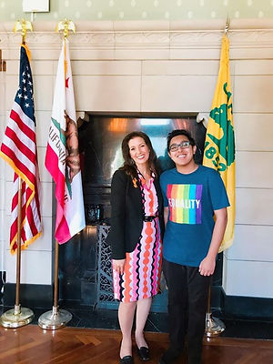 With Mayor Libby Schaaf