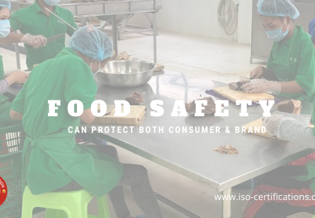 Food Safety can ensure protecting both consumer & brand | ISO certification Body Cambodia