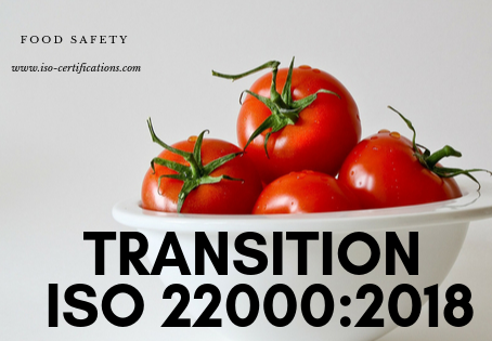 Transition to ISO 22000:2018