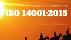 What is ISO 14001:2015 Environmental management system