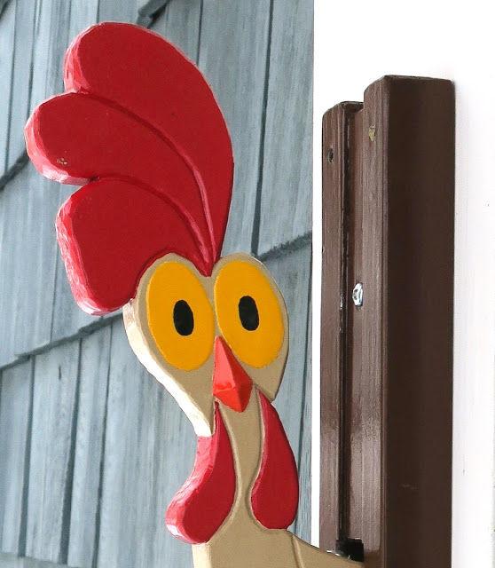 chicken head door knocker