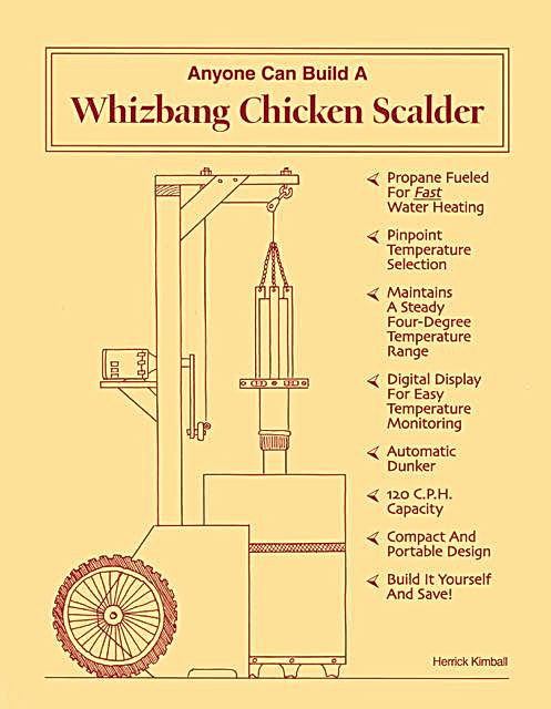 Whizbang Chicken Scalder Plan book