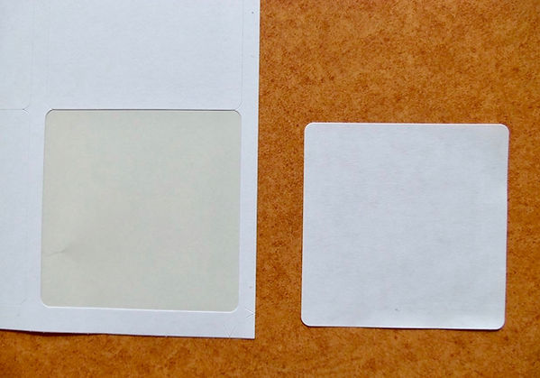freezer adhesive labels for poultry shrink bags