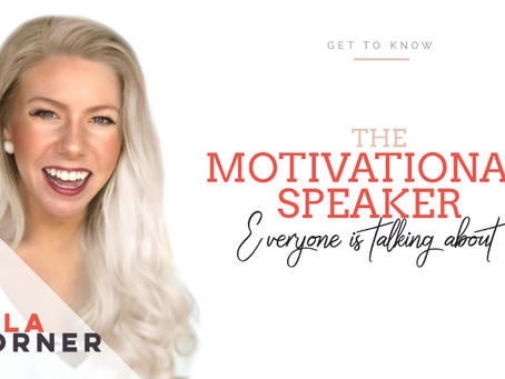 The Motivational Speaker Everyone is Talking About