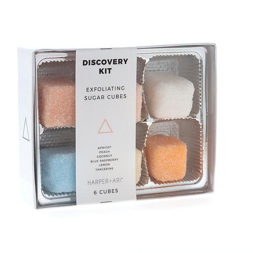 Exfoiliating Sugar Cube Scrub Gift Box Set