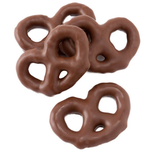 Bagged Chocolate Covered Mini Pretzels