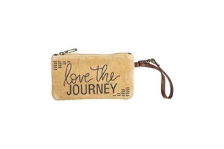 Love the Journey Wristlet