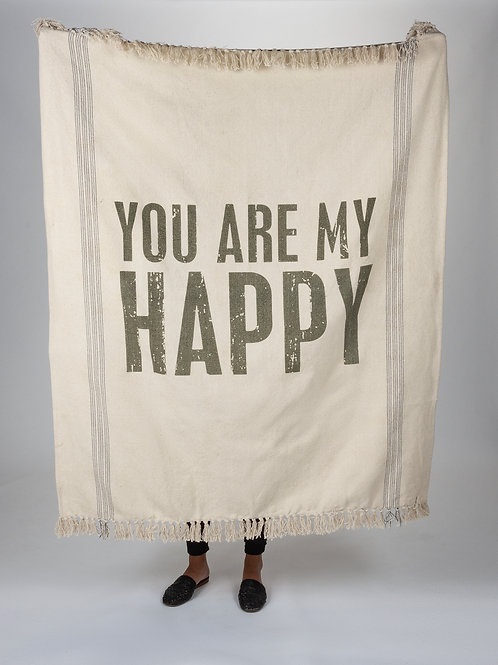 You Are My Happy Blanket