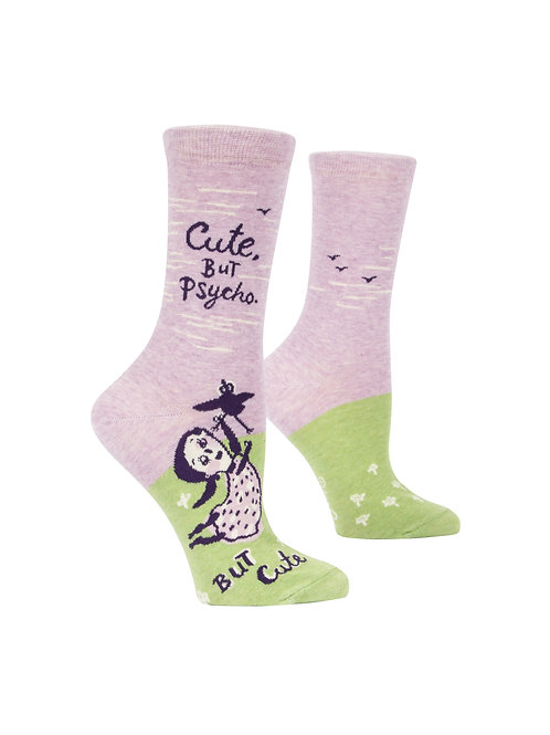 Cute, but Psycho. But Cute Women's Socks