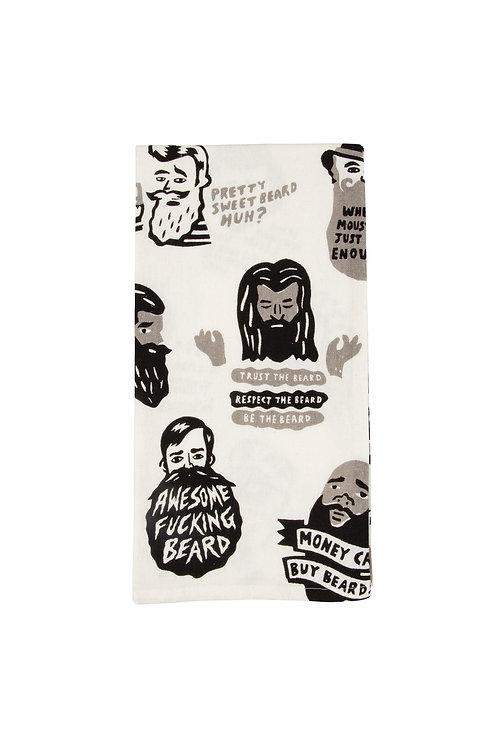 Trust the Beard Dish Towel