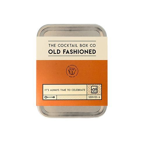 Old Fashioned Cocktail Tin Kit