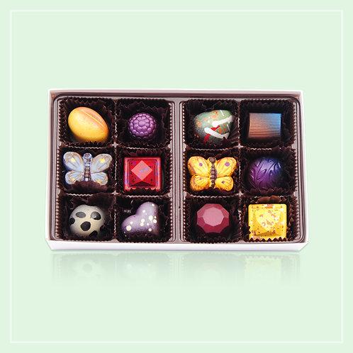 The Chocolaterie Signature Dark Chocolate Gift Box
