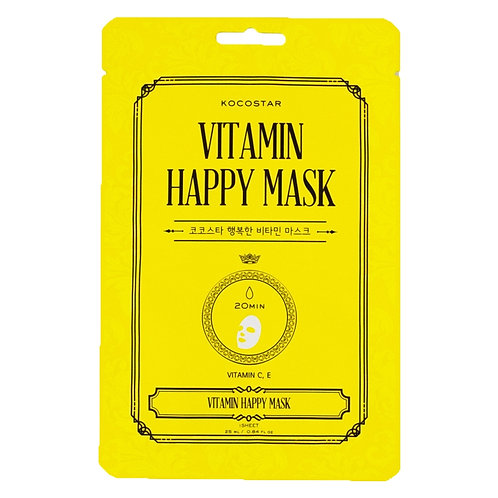 Vitamin Happy Face Mask
