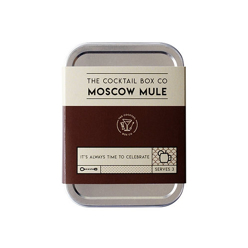Moscow Mule Cocktail Tin Kit