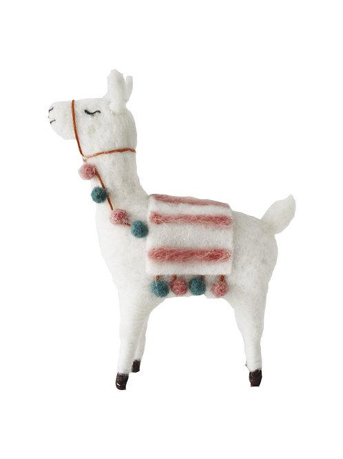 Boho Alpaca Ornament