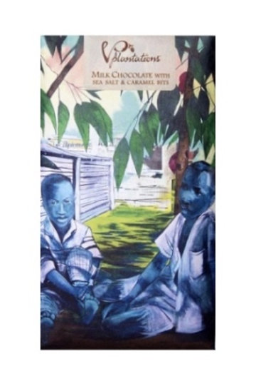 Vintage Plantation: Milk Chocolate with Sea Salt & Caramel Bits