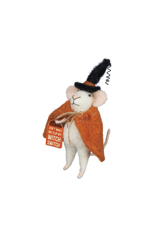 Witch Switch Mouse Ornament