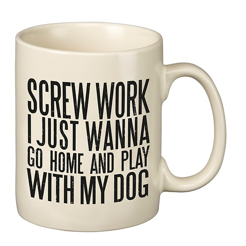 Screw Work Mug