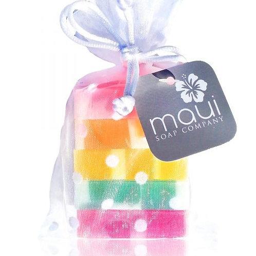 Rainbow Bar Soap Gift Set