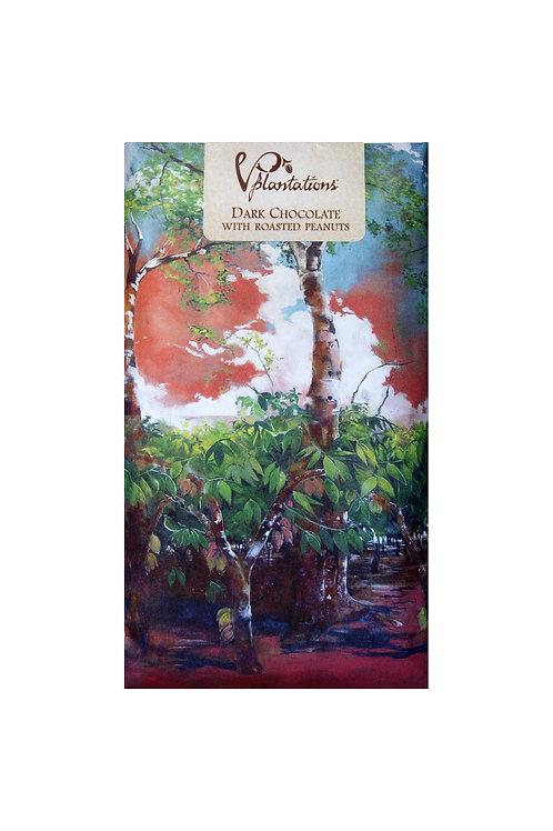 Vintage Plantation: 70% Dark Chocolate with Roasted Peanuts