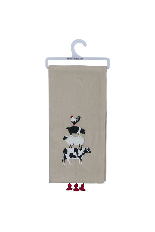 Farm Animal Dish Towel