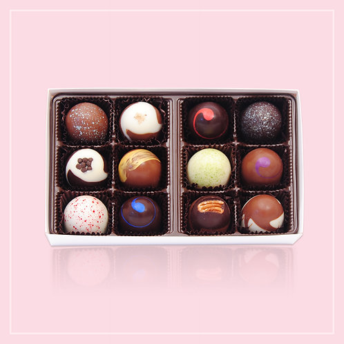 The Chocolaterie Classic Truffle Gift Box