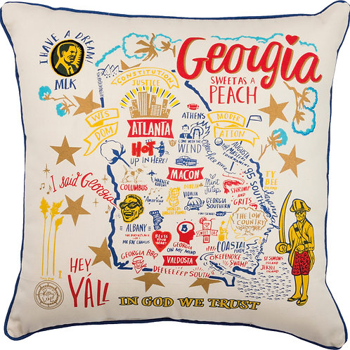 Georgia Pillow