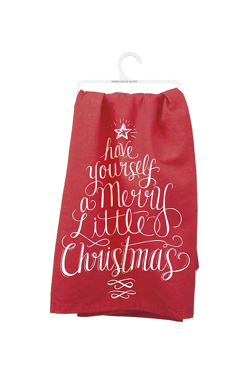 Have Yourself A Merry Little Christmas DishTowel
