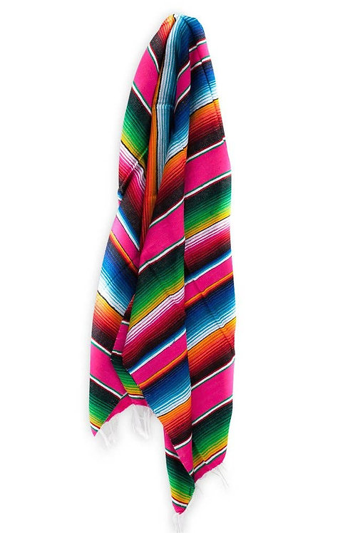 Multi-Colored Serape Blanket